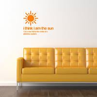 I am the Sun Sticker - Spin Wall Stickers