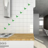 Flying Ducks Tile Stickers - Spin Wall Stickers