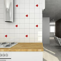 Leaves Tile Stickers - Spin Wall Stickers