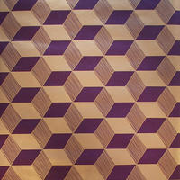 Squares Wallpaper - Gold