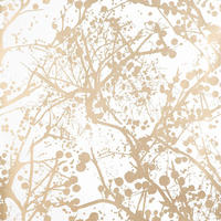 Wilderness wallpaper - Gold