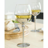 Silver Plated Wine Glasses