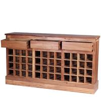Ombak The 'Jago' Reclaimed Teak Wood Wine Rack