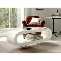 Coffee table - Loopy white