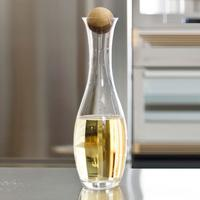 Sagaform Water Carafe with Oak Stopper by Red Candy