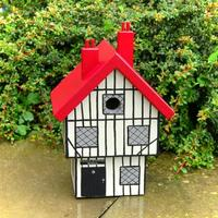 Handmade Tudor House Bird Box by Lindleywood