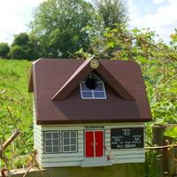 Handmade Cricket Pavilion Bird Box