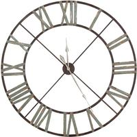 Steeple Wall Clock Rust