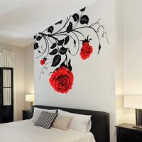 Stylish Rose Wall Sticker by Red Candy