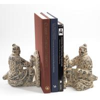 Pair of Terracotta Warrior Bookends by Shimu