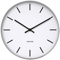 Karlsson Station Classic Wall Clock by Red Candy