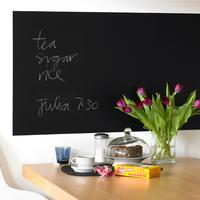 Rectangular Blackboard Wall Sticker by Red Candy