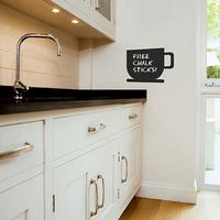 Coffee Cup Chalkboard Wall Sticker by Red Candy