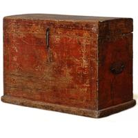Mongolian Painted Trunk by Shimu