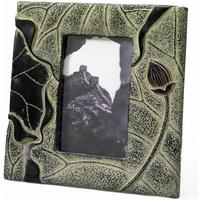 Stone Lotus Photo Frame