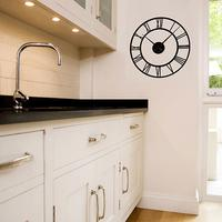 Classic Clock Wall Sticker