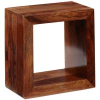 Cube Indian Bookcase - Single Hole by Verty furniture