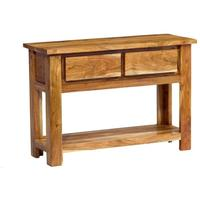 Acacia Solid Wood Console Table