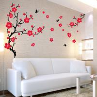 Large Plum Blossom Wall Sticker by Red Candy