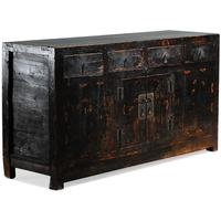 Black Painted Sideboard by Shimu