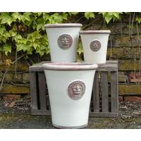 <b>PRE ORDER</b>Kew Royal Botanic Gardens Long Tom Pot - Ivory Large by The Orchard