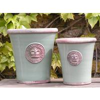 Kew Royal Botanic Gardens Long Tom Pot - Chartwell Green Medium by The Orchard