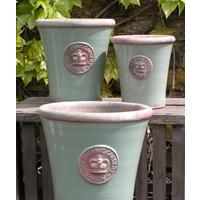Kew Royal Botanic Gardens Long Tom Pot - Chartwell Green Large by The Orchard