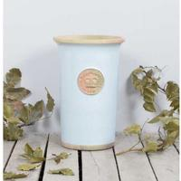 Kew Royal Botanic Gardens Cylinder Vase - Duck Egg Blue Medium