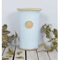 Kew Royal Botanic Gardens Cylinder Vase - Duck Egg Blue Large