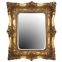 Large Ornate Gilt Mirror French Style