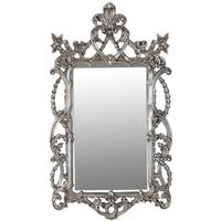 Silver Intricate Frame Mirror