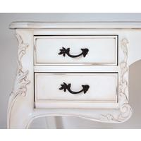 White French Writing Desk with Four Drawers