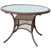 Garden Table With Glass Top