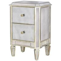 Two Drawer Antique Venetian Bedside