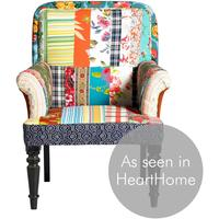 Patchwork Multicoloured Armchair