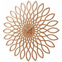 Karlsson Wood Sunflower Clock by Red Candy