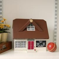 Handmade Cricket Pavilion Keepsake Box by Lindleywood