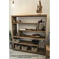 Selong Reclaimed Wood Bookcase  by Ombak