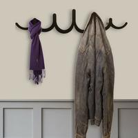 The Pulse Metal Coat Rack - Black by The Metal House