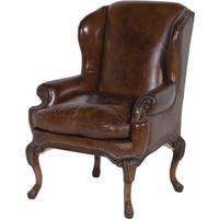 Vintage Leather Classic Armchair by The Orchard