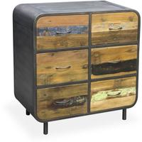 Brooklyn Finest Industrial 6 Drawer Chest