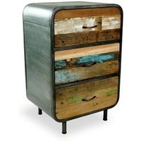 Titanic Retro High Dresser 3 Drawer by BBE Furnishings
