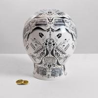 Screen-Printed Porcelain Money Box