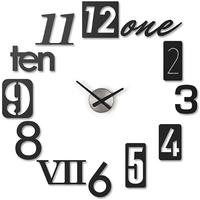 Umbra N Black Wall Clock