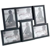 Isernia 6 Multi Photo Frame - Black by Red Candy