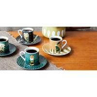 Wildlife Dusk Espresso Set by Design My World