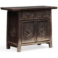 Carved Tapered Cabinet