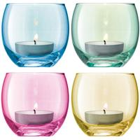 LSA 4 x  Polka Tealight Holders