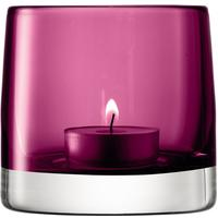 LSA Light Colour Tealight Holder - Heather by Red Candy