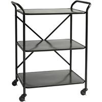 Three Tier Metal Trolley on Castors